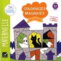 Florence Doutremépuich et Françoise Perraud - Coloriages magiques Les contes - Maternelle Grande Section 5-6 ans.