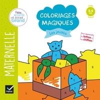 Rhonealpesinfo.fr Coloriages magiques Les jouets - Maternelle Petite section 3-4 ans Image