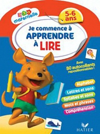 Je commence à apprendre à lire - 5-6 ans, avec autocollants repositionnables!.pdf