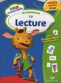 Florence Doutremépuich et Françoise Perraud - Je commence la lecture Grande Section 5-6 ans.