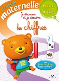 Florence Doutremépuich et Françoise Perraud - Je découvre et je dessine les chiffres Petite Section 3-4 ans.