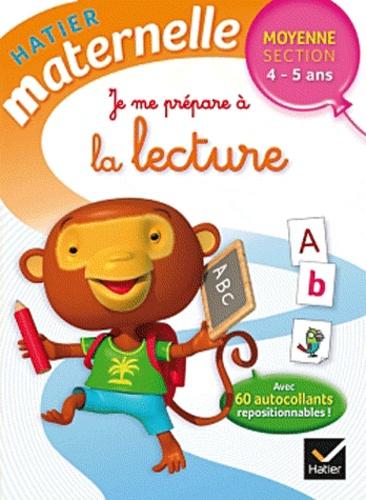 Florence Doutremépuich et Françoise Perraud - Je me prépare à la lecture Moyenne Section.