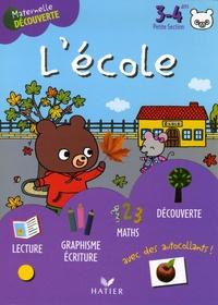 Florence Doutremépuich et Françoise Perraud - L'école avec Gaston l'ourson 3-4 ans Petite Section.