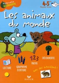 Florence Doutremépuich et Françoise Perraud - Les animaux du monde avec Amélie la souris 4-5 ans Moyenne Section.