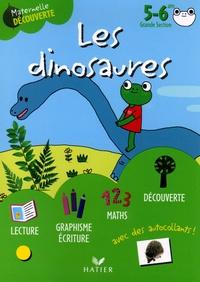 Florence Doutremépuich et Françoise Perraud - Les dinosaures avec Gribouille la grenouille 5-6 ans Grande Section.