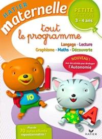 Florence Doutremépuich et Françoise Perraud - Tout le programme Petite Section 3-4 ans.
