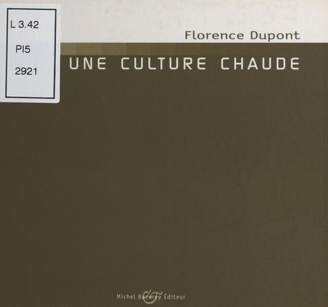 Bug (3) : Pour une culture chaude. Entretien avec Grégoire Robinne