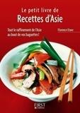 Florence Etave - Le petit livre des Recettes d'Asie.