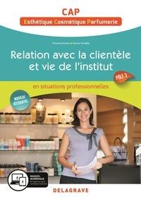 Florence Eveno - Relation avec la clientèle et vie de l'institut Cap esthétique, cosmetique, parfumerie.