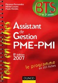 Assistant de Gestion PME-PMI BTS 1e et 2e années - Florence Fernandez  