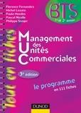 Florence Fernandez et Michel Lozato - Management des unités commerciales - 3e éd. - Le programme en 111 fiches.