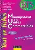 Florence Fernandez et Michel Lozato - Management des unités commerciales - BTS 1re et 2e année.