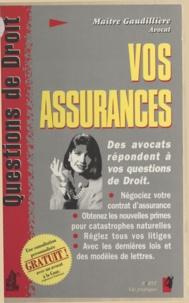 Florence Gaudillière et Etienne Riondet - Vos assurances.