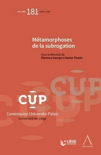 Deedr.fr Métamorphoses de la subrogation Image