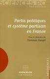 Florence Haegel et Florence Johsua - Partis politiques et système partisan en France.