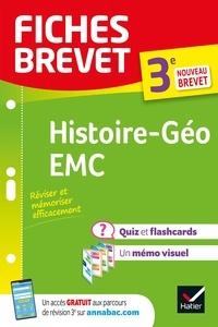 Florence Holstein et Monique Redouté - Fiches brevet Histoire-Géographie EMC 3e Brevet 2022 - fiches de révision & quiz.