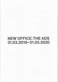 Florence Jung - New Office: The Ads - 31.03.2019-31.03.2020.