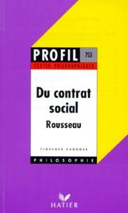 Florence Khodoss et Jean-Jacques Rousseau - .
