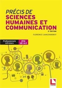 Florence Langendorff - Précis de sciences humaines et communication IFSI UE 4.2.