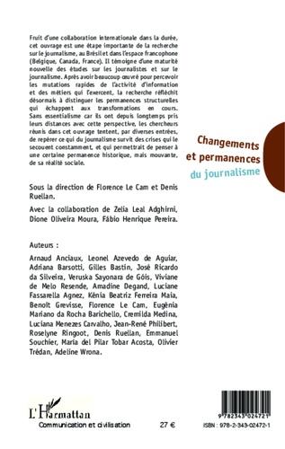Changements et permanences du journalisme