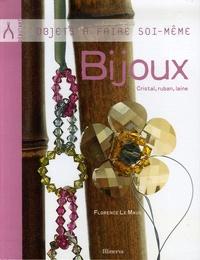 Florence Le Maux - Bijoux - Cristal, ruban, laine.
