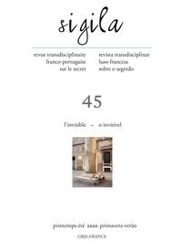 Florence Lévi - Sigila n° 45 printemps/été 2020 - L'invisible – O invisível.