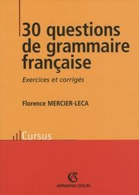 Galabria.be 30 questions de grammaire française Image