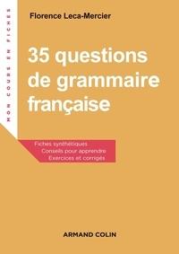 35 questions de grammaire française - Exercices et corrigés.pdf
