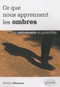 Florence Messineo - Ce que nous apprennent les ombres - Une astronomie en pointillés.