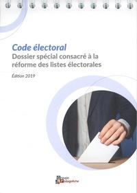 Florence Michelet et Emilie Audigié - Code électoral.
