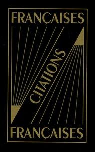 Florence Montreynaud et Pierre Oster - Dictionnaire de citations Coffret 2 volumes : Citations françaises ; Citations du monde.