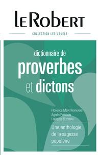 Florence Montreynaud et Agnès Pierron - Dictionnaire de proverbes et dictons.
