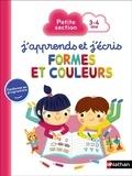 Florence Nidelet et Christine Ponchon - Formes et couleurs petite section, 3-4 ans.