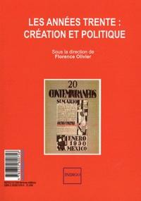 Florence Olivier et Marie Franco - Les années trente : création et politique / Invectives, querelles, dénigrements : la guerre des sexes.