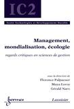 Florence Palpacuer et Maya Leroy - Management, mondialisation, écologie - Regards critiques en sciences de gestion.