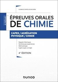 Florence Porteu-de Buchère - Épreuves orales de chimie - 4e éd. - Capes/Agrégation.