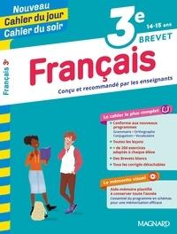 Florence Randanne et Françoise Bernollin-Muratet - Cahier du jour/Cahier du soir Français 3e + mémento.