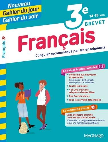 Cahier du jour/Cahier du soir Français 3e + mémento  Edition 2019
