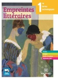 Florence Randanne - Empreintes littéraires 1re séries technologiques.