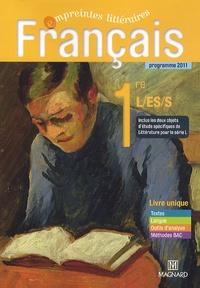 Complet Pdf Francais 1e L Es S Livre Unique Programme 2011