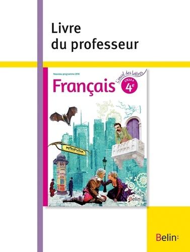 Francais 4e L Envol Des Lettres Livre Du Professeur