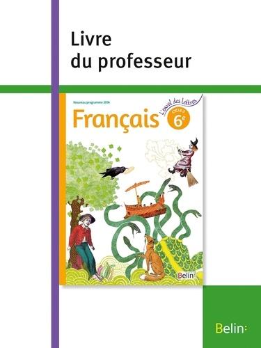 Francais 6e L Envol Des Lettres Livre Du Professeur