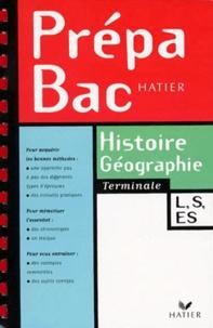 Florence Smits et Elisabeth Brisson - Histoire-géographie, terminales L-ES-S.