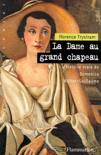 Florence Trystram - La dame au grand chapeau.