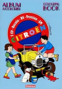 Florend - Citroën 5CV/Rosalie/DS/Traction/SM - Album à colorier.