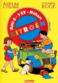 Florend - Citroën Ami 6/2 CV/Mehari - Album à colorier.