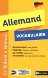 Florent Gabaude et Frédérique Mengard - Allemand Vocabulaire.