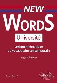 Florent Gusdorf - Lexique thématique du vocabulaire contemporain anglais-français.