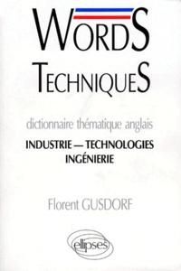 Costituentedelleidee.it WORDS TECHNIQUES DICTIONNAIRE THEMATIQUE ANGLAIS. Industrie, Technologies, Ingénierie Image