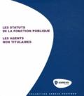 Florent Le Fraper - Les statuts de la fonction publique - Les agents non titulaires.